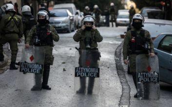 Επιχείρηση της Αστυνομίας σε κατειλημμένο κτίριο στα Εξάρχεια