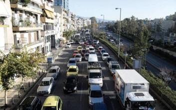 Κίνηση τώρα: Τι γίνεται στους δρόμους της Αθήνας