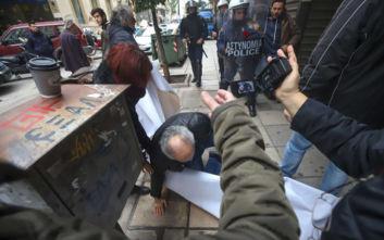 Θεσσαλονίκη: Ένταση στη διάρκεια κινητοποίησης κατά των πλειστηριασμών