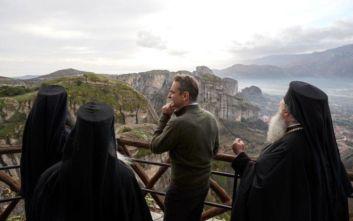 Μητσοτάκης: Τα Μετέωρα είναι ένας φάρος Ορθοδοξίας, θα στηρίξουμε αυτό τον τόπο