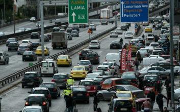Κίνηση τώρα: Μποτιλιάρισμα στην Αθηνών - Λαμίας