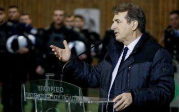 Χρυσοχοΐδης: Θα συνεχίσουμε να αγωνιζόμαστε μαζί για μία κοινωνία απαλλαγμένη από τον φόβο