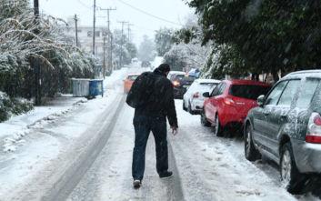 Καιρός: Χιόνια στα βόρεια προάστια, νέο κύμα ψύχους από την Κυριακή