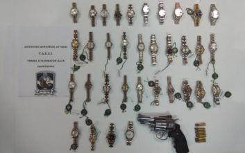 Χειροπέδες στον ληστή των Rolex: Είχε αρπάξει ρολόγια αξίας 440.000 ευρώ από τη Βουκουρεστίου