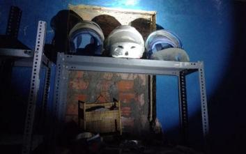 Κατάληψη Έπαυλης Κουβέλου στο Μαρούσι: Φωτογραφίες από το εσωτερικό του κτιρίου
