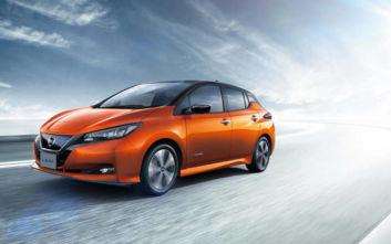 Το Nissan Leaf αναβαθμίζεται από τον νέο χρόνο