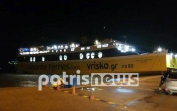 Βίντεο με αυτοκίνητο να πέφτει στη θάλασσα στο λιμάνι της Κυλλήνης
