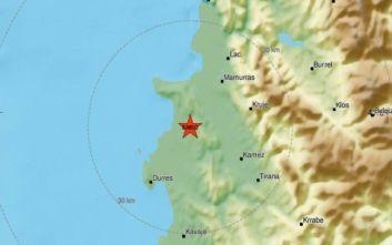 Νέος σεισμός στην Αλβανία