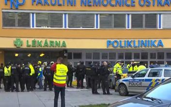 Πυροβολισμοί σε νοσοκομείο στην Τσεχία: 42χρονος εργαζόμενος στην περιοχή ο δράστης της επίθεσης