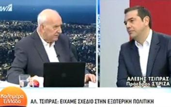 Τσίπρας σε Παπαδάκη: Είστε αντιεξουσιαστική εκπομπή, με εκνευρίζατε όταν ήμουν πρωθυπουργός