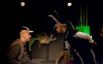 «Το δικό μας παραμύθι: μια μουσικός, μια καρακάξα κι ένας κάστορας!» στο θέατρο Ίσον
