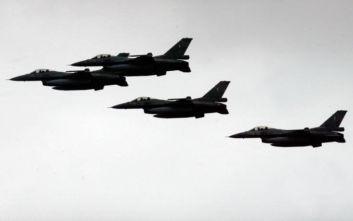 Μόλις 150 μέτρα πάνω από το έδαφος πέταξαν τουρκικά μαχητικά στο Αιγαίο