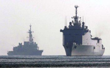 Ξεκινά η τριμερής ναυτική άσκηση Κύπρου, Γαλλίας και Ιταλίας στη Μεγαλόνησο