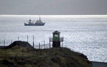 Ανοίγει το χάσμα μεταξύ Μόσχας και Τόκιο μετά τη σύλληψη πέντε ιαπωνικών αλιευτικών
