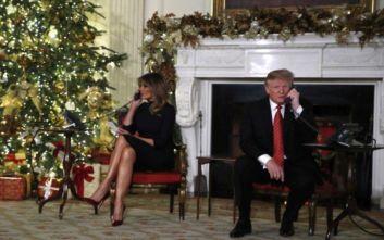 Ο Τραμπ δεν έχει πάρει χριστουγεννιάτικο δώρο στη Μελάνια και… παίζει με την τύχη του