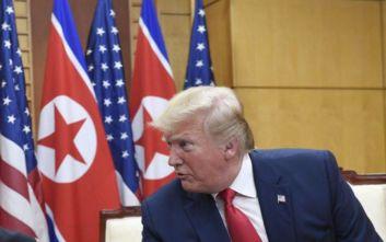 Τραμπ: Παρακολουθούμε στενά τη Β. Κορέα
