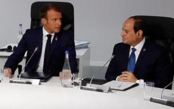 Μακρόν και Σίσι καλούν σε μεγαλύτερη αυτοσυγκράτηση στη Λιβύη