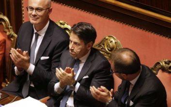 Ιταλία: Ψήφο εμπιστοσύνης έλαβε η κυβέρνηση του Τζουζέπε Κόντε