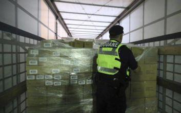 Ναρκωτικά ύψους 3,7 εκατ. ευρώ είχαν καμουφλαριστεί σε... σαλάτες