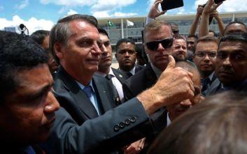 Μπολσονάρου: Ελπίζω ο Τραμπ να μην μας τιμωρήσει με δασμούς σε χάλυβα και αλουμίνιο