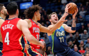 NBA: Ο Λούκα Ντόντσιτς έκανε ρεκόρ καριέρας με 33 πόντους και 18 ριμπάουντ