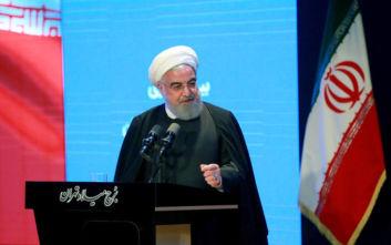 Πρόεδρος Ιράν: Έτοιμοι για διαπραγματεύσεις με τις ΗΠΑ, εφόσον άρουν πρώτα τις κυρώσεις
