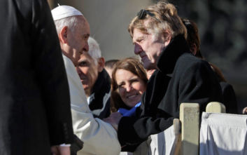 Ο Ρόμπερτ Ρέντφορντ συναντήθηκε με τον πάπα Φραγκίσκο