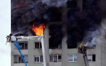 Σλοβακία: Τουλάχιστον πέντε νεκροί από έκρηξη αερίου σε πολυκατοικία στο Πρέσοφ