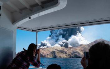 Τέλος οι έρευνες για τους δυο αγνοούμενους από την έκρηξη ηφαιστείου στη Ν. Ζηλανδία