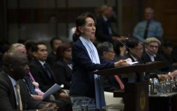 Μιανμάρ: Η Αούνγκ Σαν Σου Κι παραδέχτηκε βία αλλά όχι εξόντωση των Ροχίνγκια