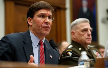 Για «παράσιτα» στους κόλπους του ΝΑΤΟ μίλησε ο Αμερικανός υπουργός Άμυνας