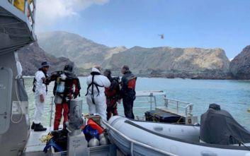 Έκρηξη στη Νέα Ζηλανδία: Τα δύο τελευταία θύματα του ηφαιστείου ενδέχεται να μην βρεθούν ποτέ