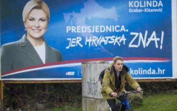 Προεδρικές εκλογές στην Κροατία: Στα «σχοινιά» η Γκράμπαρ-Κιτάροβιτς