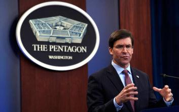 ΗΠΑ: Το Πεντάγωνο δηλώνει «έτοιμο, ό,τι κι αν γίνει» για τη Βόρεια Κορέα