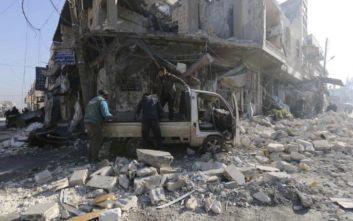 Νεκροί άμαχοι από ρωσικό βομβαρδισμό στην επαρχία Ιντίλμπ της Συρίας