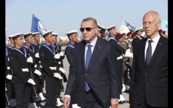 Λιμάνι για τον τουρκικό στόλο ζήτησε ο Ερντογάν από την Τυνησία