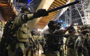 Επιχορηγήσεις 17,3 εκατ. δολάρια η αστυνομία του Χονγκ Κονγκ για την αντιμετώπιση των διαδηλώσεων