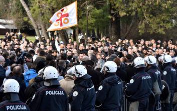 Μαυροβούνιο: Συγκρούσεις με την αστυνομία για τον νόμο περί θρησκευτικών κοινοτήτων