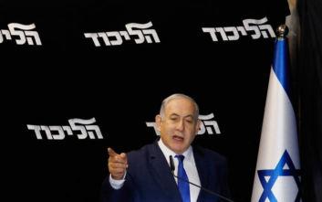 Ισραήλ: Πιο δυνατός βγαίνει από την τελευταία εσωκομματική αναμέτρηση ο Νετανιάχου