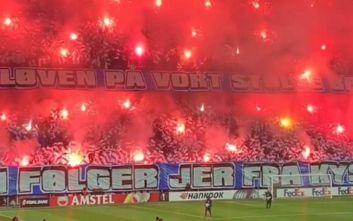 Europa League: Τη νύχτα μέρα έκαναν οι οπαδοί της Κοπεγχάγης