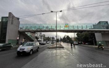 Δράση για τον καθαρισμό και την αφαίρεση γκράφιτι σε πεζογέφυρα της Κηφισίας