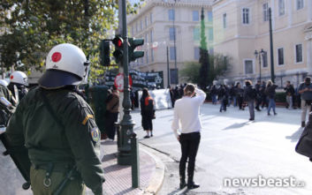 Αλέξης Γρηγορόπουλος: Σε εξέλιξη το μαθητικό - φοιτητικό συλλαλητήριο στο κέντρο