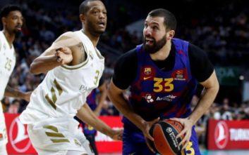 Μπάσκετ: Μπαρτσελόνα-Ρεάλ Μαδρίτης 83-63