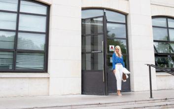 Η Ελένη Μενεγάκη για πρώτη φορά στα εργαστήρια της L'Oréal Paris στο Παρίσι!