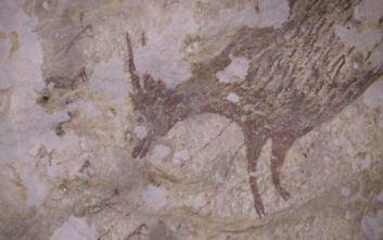 Ανακαλύφθηκε στην Ινδονησία η αρχαιότερη σκηνή κυνηγιού