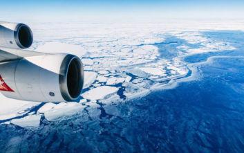 Η τρελή πτήση που μπορείς να κάνεις για να σε βρει η Πρωτοχρονιά στην… Ανταρκτική