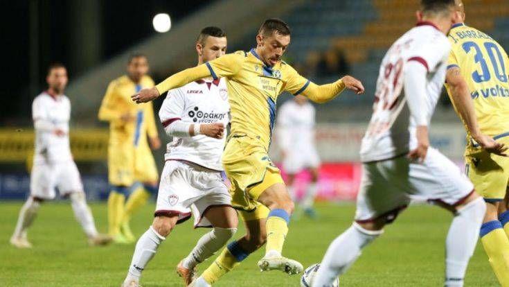 Αστέρας Τρίπολης-ΑΕΛ 1-1: Όλα μοιρασμένα στην «μάχη» της Τρίπολης