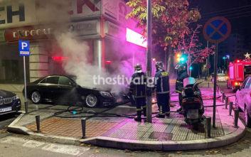Θεσσαλονίκη: Προσπάθησαν να πυρπολήσουν αυτοκίνητα πολυτελείας με προσάναμμα για τζάκι