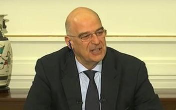 Δένδιας: Άμεσα οι συνομιλίες με Ιταλία και Αίγυπτο για την ΑΟΖ