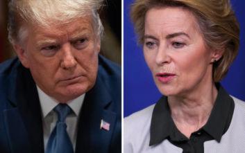 Κομισιόν: Η Ούρσουλα φον ντερ Λάιεν θα συναντήσει τον Τραμπ αρχές του 2020
